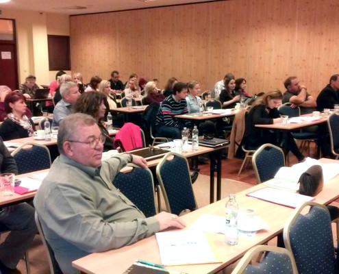 Šolenie agentúr zaradených do Integrovanej siete Regionálnych rozvojových agentúr Patince 18.-19.11.2014
